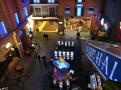 Atlantic City - Casino - 01132 Print by DC Photographer