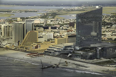 Photograph - Atlantic City Casinos by George Miller
