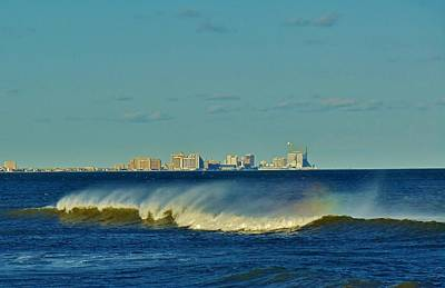 Photograph - Atlantic City by Ed Sweeney