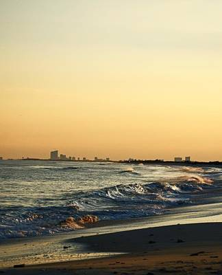 Photograph - Atlantic City Skyline by Elsa Marie Santoro