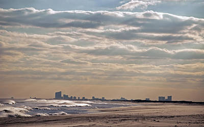 Atlantic City Skyline II Art Print