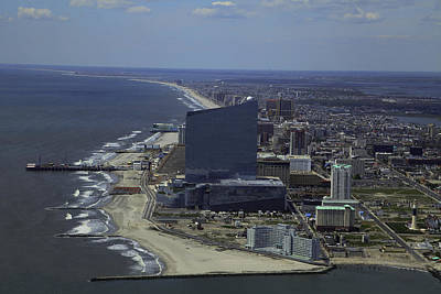Photograph - Atlantic City Skyline Photo by George Miller