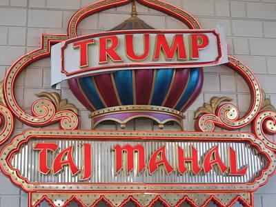 Atlantic City - Trump Taj Mahal Casino - 01131 Art Print by DC Photographer