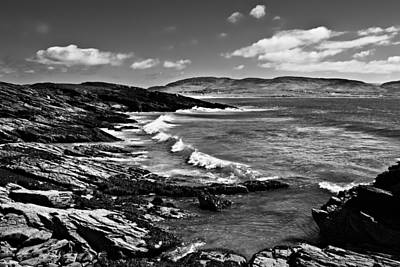 Photograph - Atlantic Coastline / Donegal by Barry O Carroll