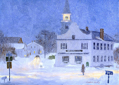 George W. Bush Painting - Atlantic Hall by Candace Lovely