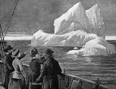 Atlantic Iceberg Print by Bildagentur-online/tschanz