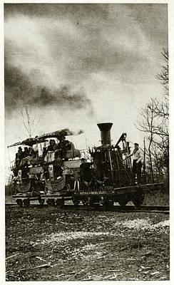 Atlantic Locomotive Art Print by Cci Archives