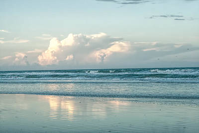 Photograph - Atlantic Ocean And Clouds by Dorothy Cunningham