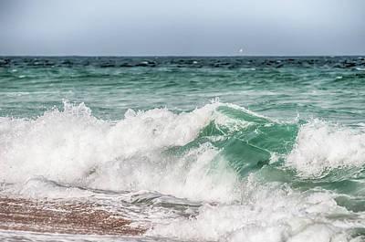 Photograph - Atlantic Ocean At Cape Hatteras North Carolina by Alex Grichenko
