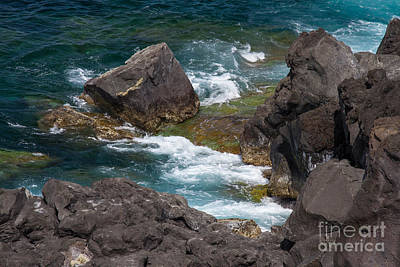 Photograph - Atlantic Ocean Blues by Chris Scroggins