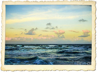 Photograph - Atlantic Ocean Florida Coast by Ginette Callaway