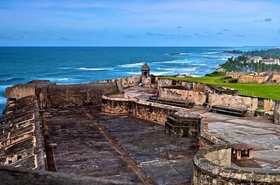 Print featuring the photograph Atlantic Ocean From Fort San Cristobal by Ricardo J Ruiz de Porras