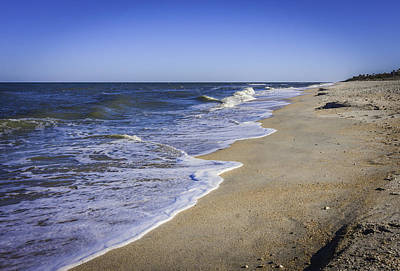 Photograph - Atlantic Ocean Meets Ponte Vedra Beach by Karen Stephenson