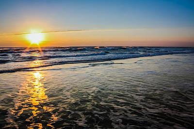 Photograph - Atlantic Ocean Sunrise by Anthony Doudt
