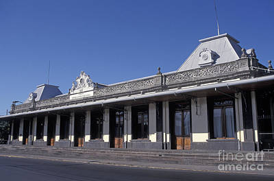 Photograph - Atlantic Railway Station San Jose Costa Rica by John  Mitchell
