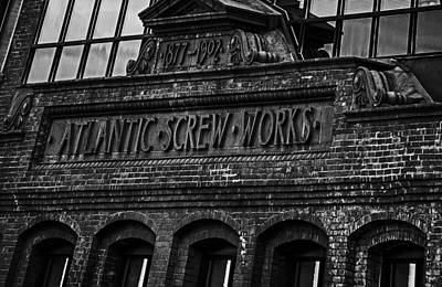 Photograph - Atlantic Screw Works Building Hartford by Phil Cardamone