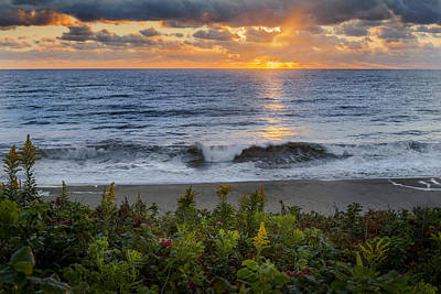 Photograph - Atlantic Sunrise by Bill Wakeley