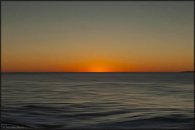 Photograph - Atlantic Sunrise In Oils by Erika Fawcett