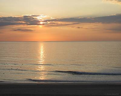 Photograph - Atlantic Sunrise by Jennie  Richards