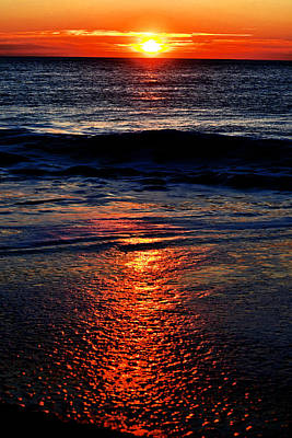 Photograph - Atlantic Sunrise by John Flack