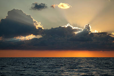 Photograph - Atlantic Sunrise by June Jacobsen
