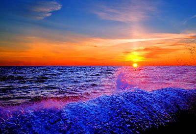 Photograph - Atlantic Sunrise by Pete Federico