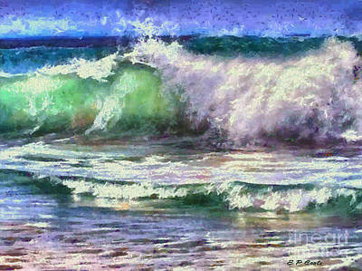 Painting - Atlantic Waves by Elizabeth Coats