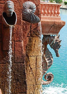 Photograph - Atlantis Architecture by Mark Spearman