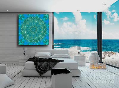 Digital Art - Atlantis - Art Ideas For Interior Design by Hanza Turgul