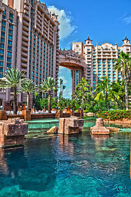 Atlantis - Bahamas Art Print by Timothy Lowry