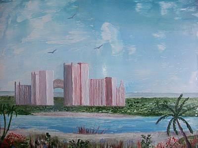 Atlantis Painting - Atlantis Nassau by Moe Hussain