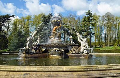 Photograph - Atlas Fountain by Shanna Hyatt