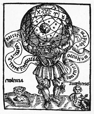 Atlas Art Print by Granger