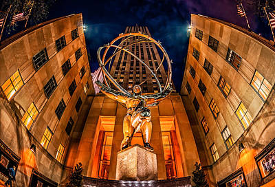 Photograph - Atlas by James Howe