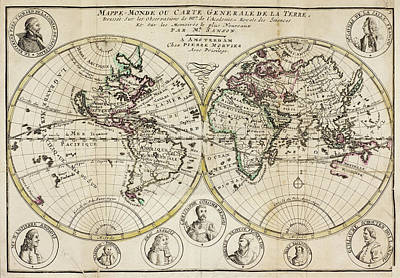 Atlas Of The World Art Print by British Library