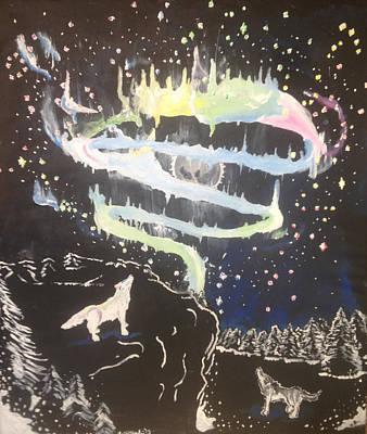 Constellations Painting - Atmosphere  by Lorri Lanig
