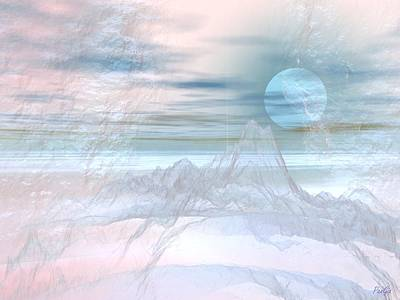 Digital Art - Atmospheric Ink by John Pangia