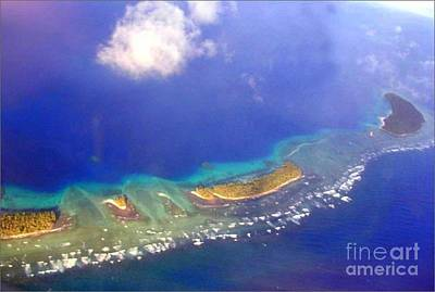 Photograph - Atoll by Lew Davis