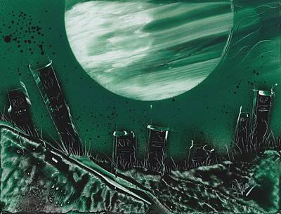 Painting - Atombed by Jason Girard
