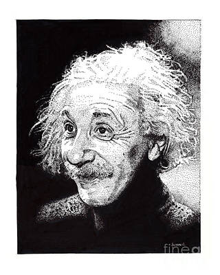 Atomic Albert Art Print by Joseph Juvenal