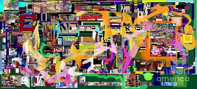 Inner Self Digital Art - Atomic Bomb Of Purity 9c by David Baruch Wolk