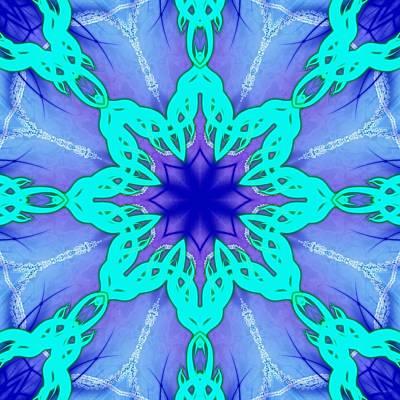 Digital Art - Atomic Ice by Derek Gedney