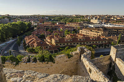 Photograph - Atop Ancient Walls by Pablo Lopez
