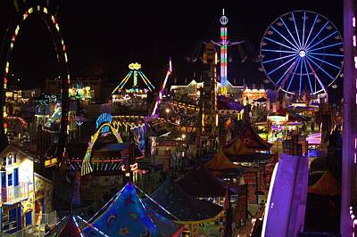 Photograph - Atop The Carnival by Tyson Kinnison