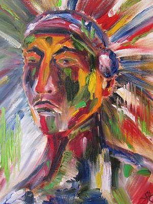Atsila, Native American Art Print