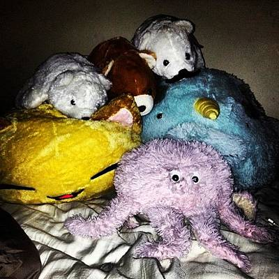 Octopus Wall Art - Photograph - Attack Of The Stuffed Animals #animals by Rachel Korsen