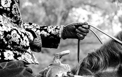 Western Pleasure Photograph - Attention To Detail by Leslie Heemsbergen