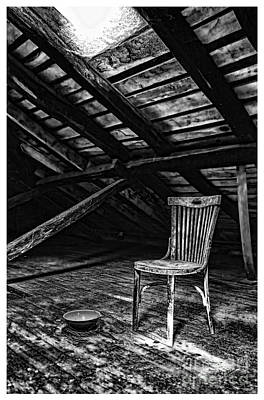 Photograph - Attic Finds In Black And White Perrozo Spain by Diana Raquel Sainz