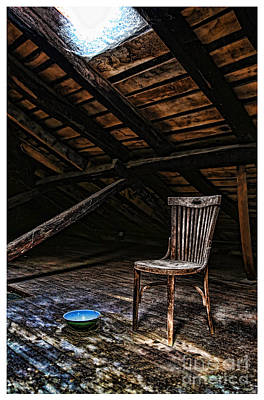 Photograph - Attic Finds In Color Perrozo Spain by Diana Raquel Sainz