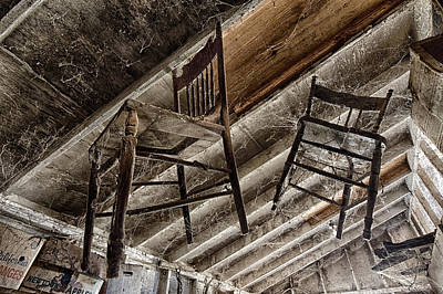 Photograph - Attic Seating by Robert Woodward